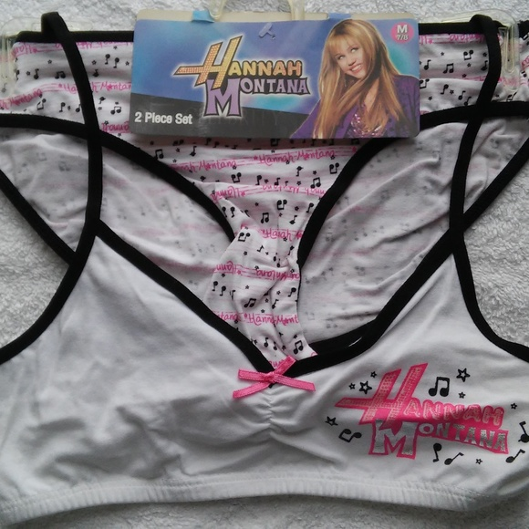 Disney Other - Girls 2pc Hanna Montana Bikini/Bra set.